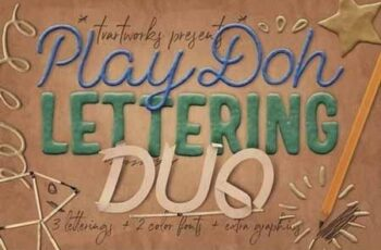 Play-Doh Lettering Duo 3389498 7