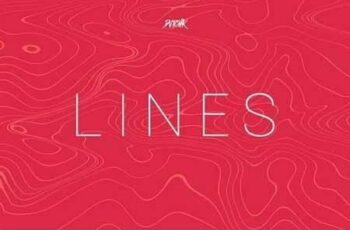 Lines Abstract Wavy Backgrounds Vol. 03 2
