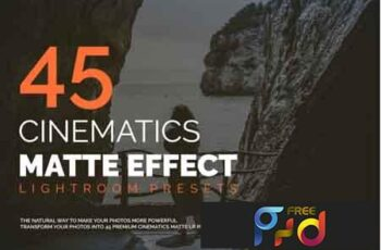 45 Cinematic Matte Effect LR Presets 3531252 8