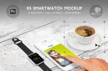 RS Smartwatch Mockup 16521401 2