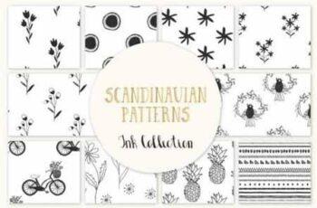 Scandinavian seamless pattern 727563 5
