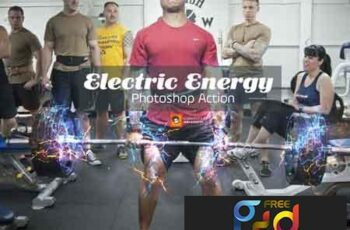Electric Energy Photoshop Action 3451692 4