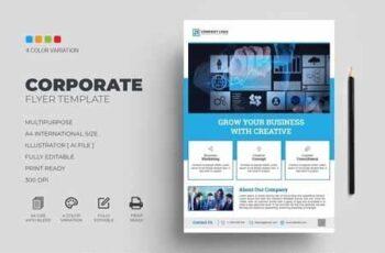 Corporate Flyer Template 3075822 6