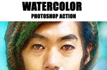 Watercolor Photoshop Action 23178829 5