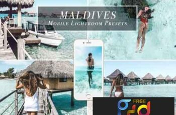 Lightroom Mobile Presets - Maldives 3470972 3
