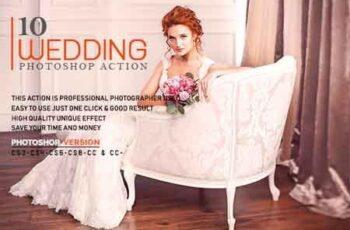 10 Wedding Photoshop Action 23216080 4