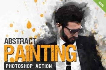 Abstract Painting Photoshop Action 23212791 7