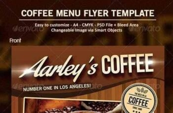 Coffee Menu Flyer 7000144 5