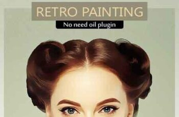 Retro Painting PS Action Vol.3 23198113 7