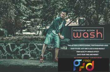 Wash Photoshop Action 3533739 2
