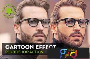 Cartoon Effect Photoshop Action 3532420 8