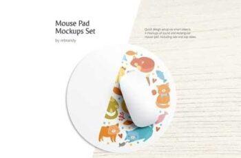 Mouse Pad Mockups Set 3446701 7