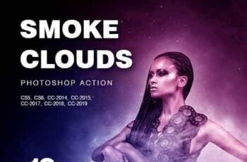 Smoke Clouds Photoshop Action 23329935 8
