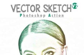 Vector Sketch V2 Photoshop Action 23329706 3