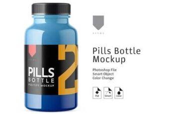 Pills Bottle Mockup 2 3459404 4