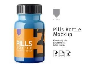 Pills Bottle Mockup 3 3459293 6