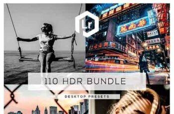 110 HDR Bundle Lightroom Presets 23370239 5