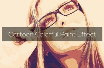 Cartoon Colorful Paint Effect 3301359 4