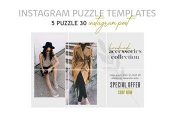 Instagram Puzzle Templates - Fashion 3446314 4
