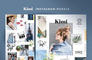 Kimi - instagram puzzle 3450295 3