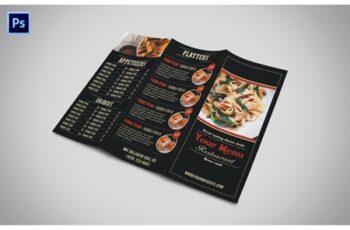 Tri Fold Restaurant Menu 3526934 6