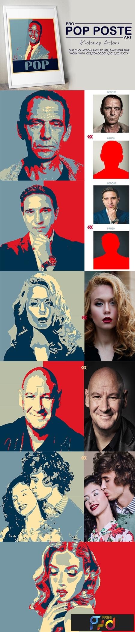 Pro Pop Poster Art Photoshop Actions 3535655 1