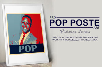 Pro Pop Poster Art Photoshop Actions 3535655 4