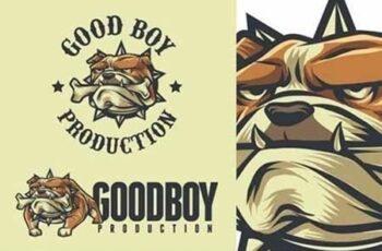Bulldog Mascot Logo 5