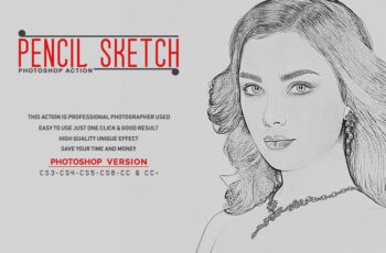 Pencil Sketch Photoshop Action 3535364 10