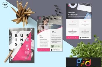 Business Flyer Template 2 3