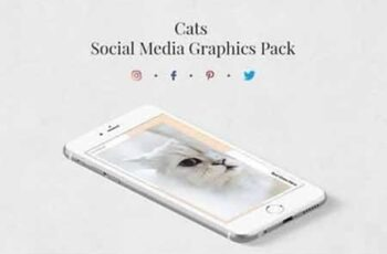 Cats Pack Social Media Template Bundle 3463577 4