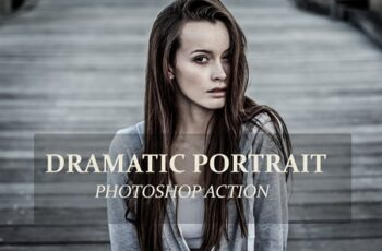 Dramatic Portrait - PS Action 3239335 8