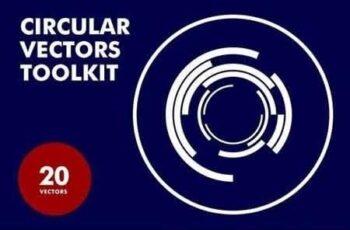 Circular Vectors Toolkit 1114731