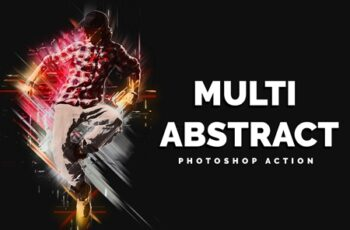 Multi Abstract Photoshop Action 3559837 6