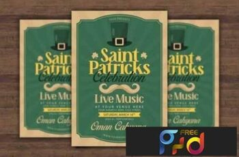 Saint Patricks Celebration Flyer 4