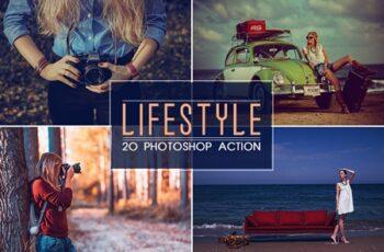 20 Lifestyle Photoshop Action 3530493 6