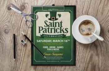 Saint Patricks Day Flyer 8