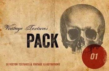 Vintage Textures Pack 5