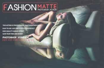 Fashion Matte Photoshop Action 3529155 5