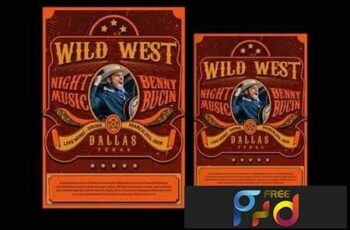 Wild West Music Flyer 4