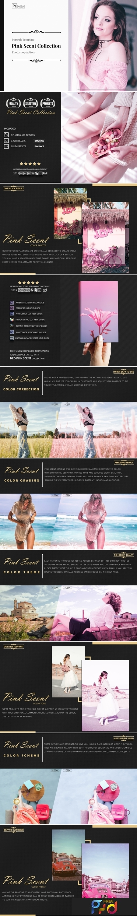 Neo Pink Scent Color Grading photoshop actions 3530870 1