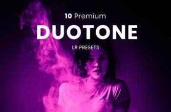 10 Duotone Premium Lightroom Presets 23344573 4