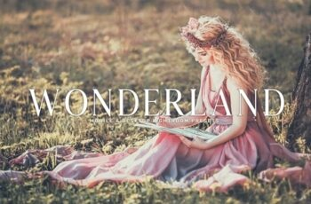 Wonderland Lightroom Presets Pack 3581806 3