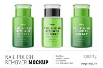 Nail polish remover mockups 3450692 5