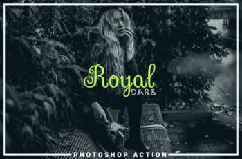 Royal Dark Photoshop Action 3536595 5