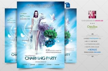 Charming Party Flyer Poster 3038371 7