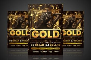 Gold - Flyer Poster 3042411 5