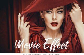 Movie Effect Mobile & Desktop Lightroom Presets Collection 3537010 7