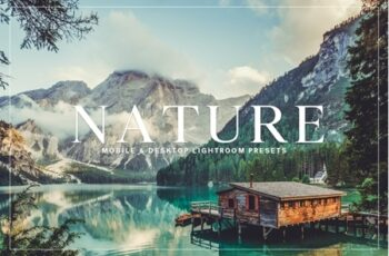 Nature Mobile & Desktop Lightroom Presets Collection 3537007 5