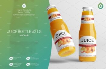 Juice Bottle LG Mock-Up 2 V2,0 3040137 3
